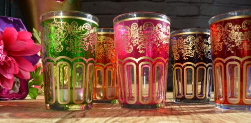 COLOURFUL GLASSWARE