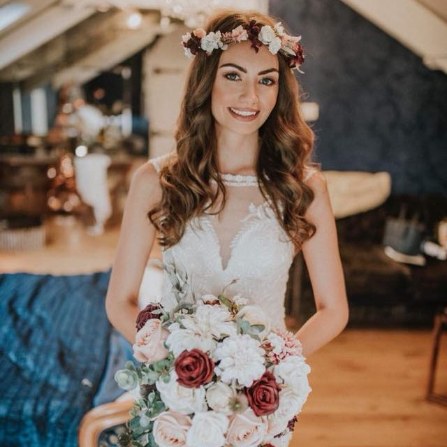 AMBERLEY - LOREN FLOWER CROWN
