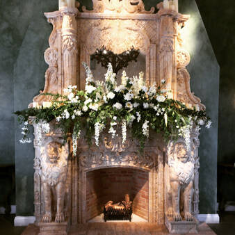 FLOWERS FOR FIREPLACES