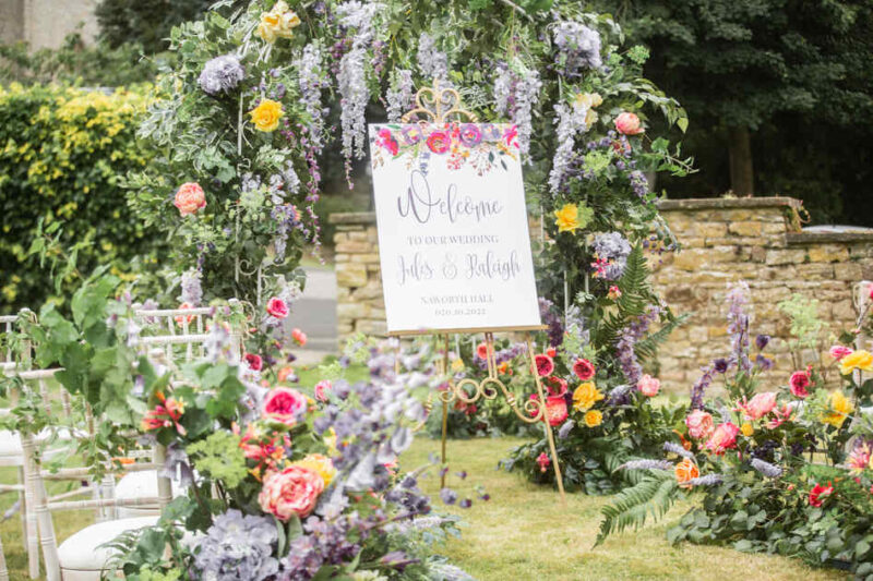 FLORAISON WELCOME SIGN (2)