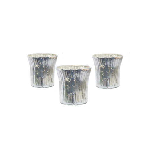 ASTRID SILVER TEALIGHT