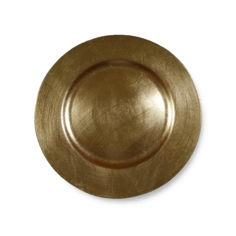 CASSIE GOLD CHARGER PLATE