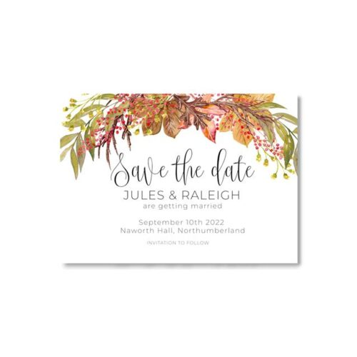 FALL IN LOVE SAVE THE DATE 2