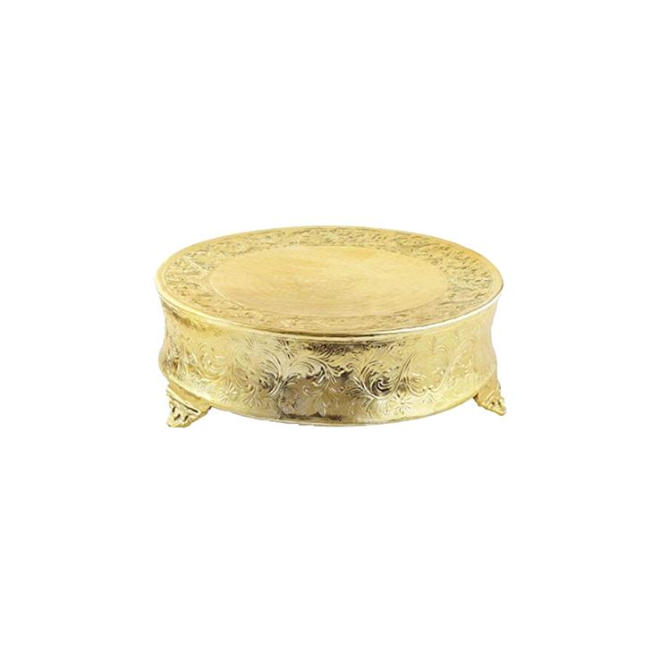 HELMSLEY GOLD CAKE STAND