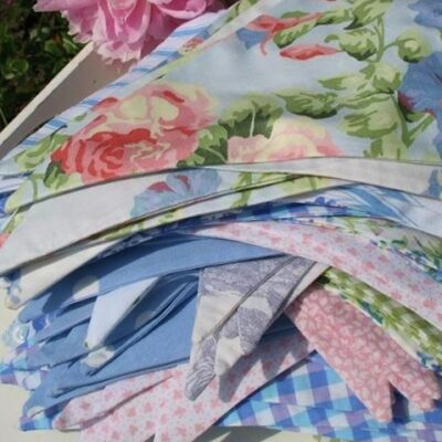 ROSE GARDEN COTTON BUNTING