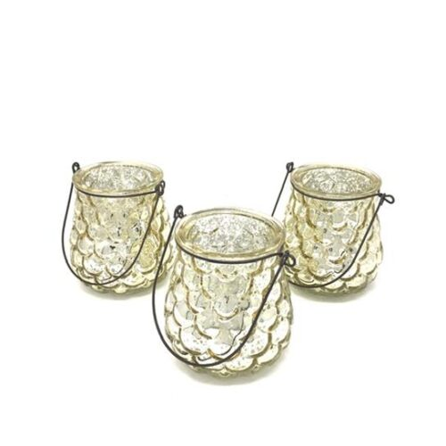 SPRUCE SILVER TEALIGHT