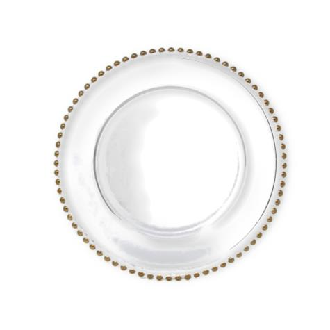 TALLULAH GOLD CHARGER PLATE