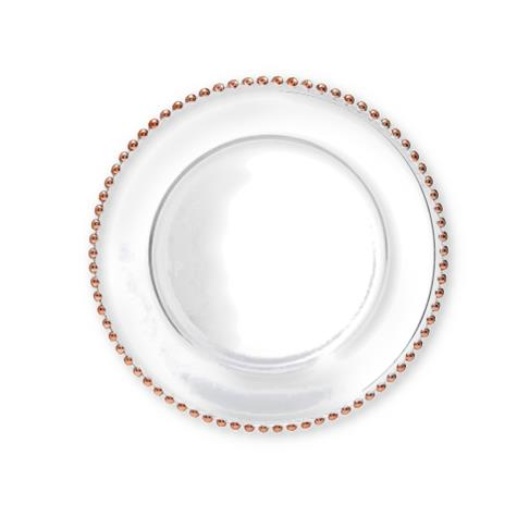 TALLULAH ROSE GOLD CHARGER PLATE