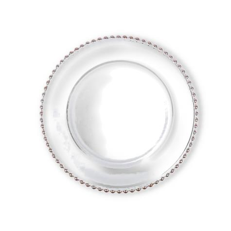 TALLULAH SILVER CHARGER PLATE
