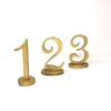BECKY GOLD TABLE NUMBERS 1 2 3