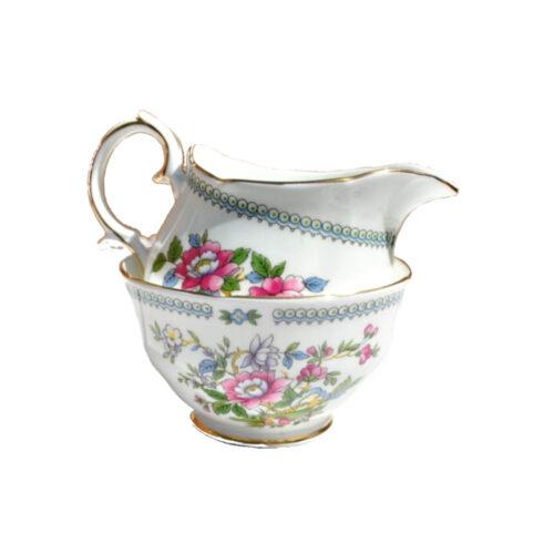 milk jug & sugar bowls
